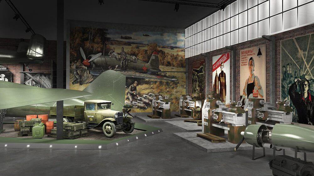Экспозиция Музей Авиации УГМК