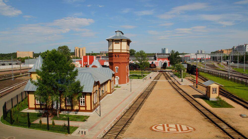 Музейная экспозиция РЖД«Паровозное депо Подмосковная»