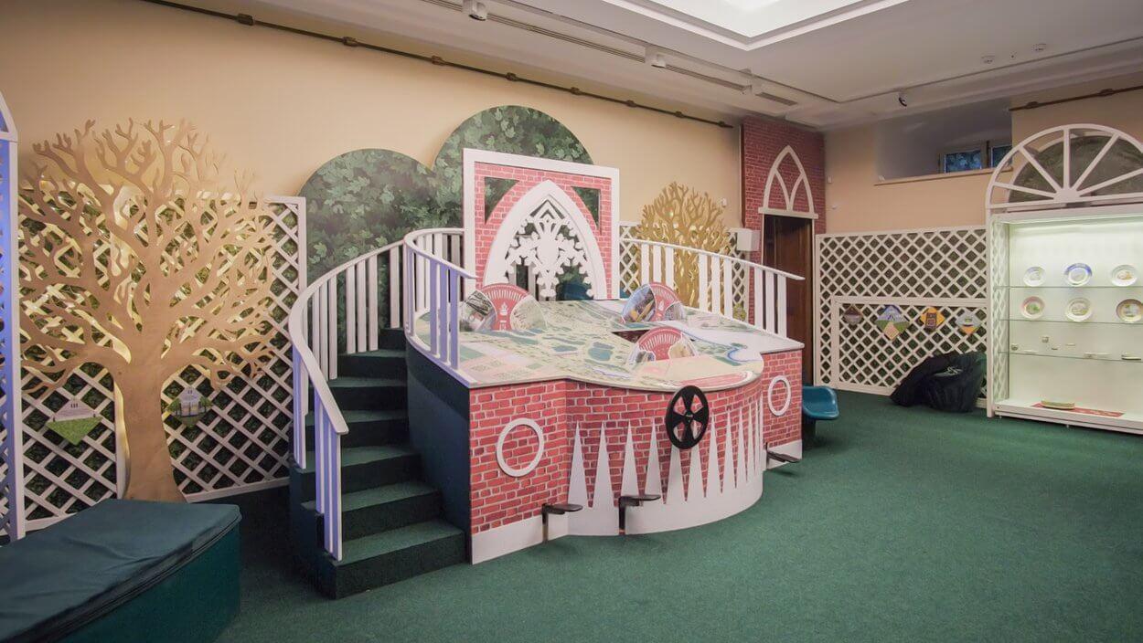 Детский музей в дворцовом комплексе «Царицыно».